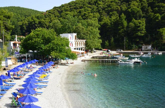 Agnontas op Skopelos