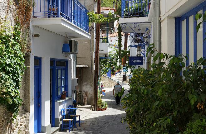 Glossa vakantie op Skopelos