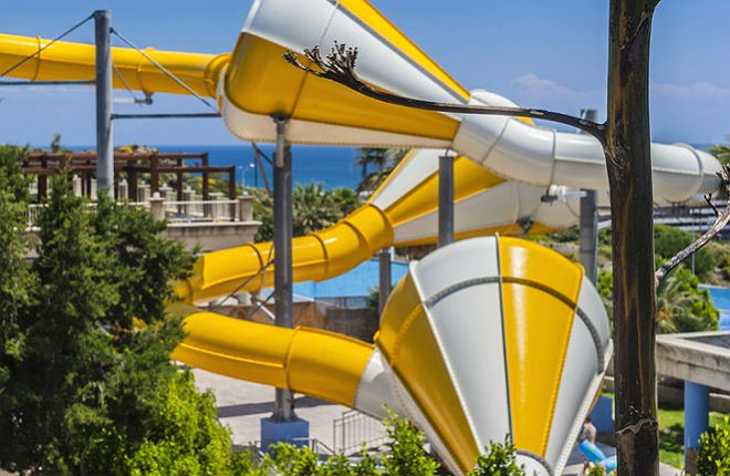 Faliraki op Rhodos bij beste waterparken ter wereld