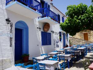Op vakantie naar Alonissos in de oude stad
