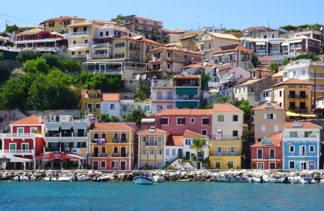 Van Corfu naar Parga
