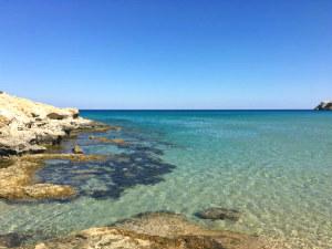 Mooiste stranden van Rhodos Agathi beach