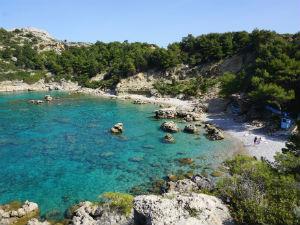 Mooiste stranden van Rhodos Anthony Quinn