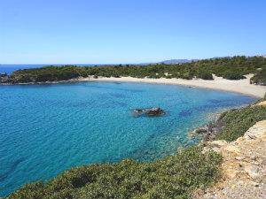 Mooiste stranden van Rhodos Glistra beach