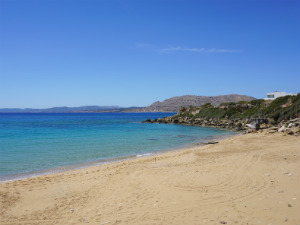 Mooiste stranden van Rhodos Pefki beach