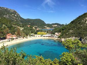 Temperatuur records Griekenland Corfu