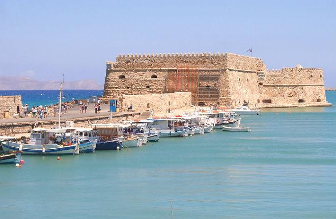 Grootste steden op Kreta
