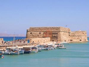 Grootste steden op Kreta Heraklion