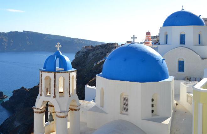 In december naar Santorini op vakantie