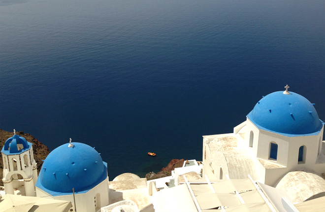 Vakantie aanbiedingen Santorini