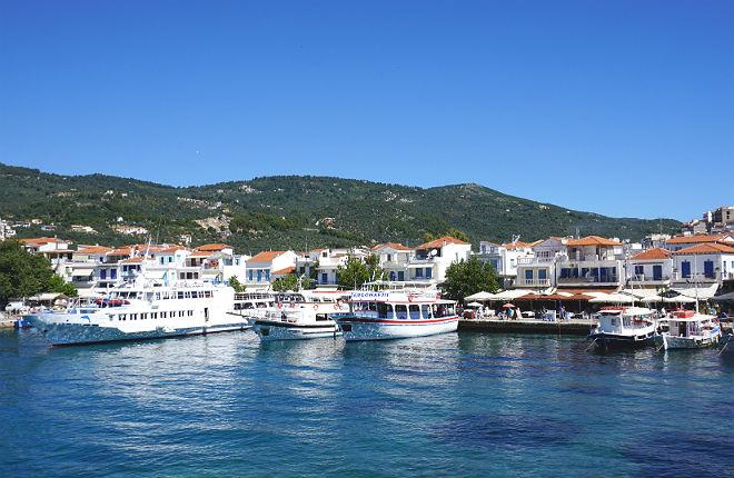 Vakantie aanbiedingen naar Skiathos