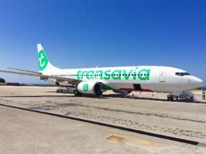 Vliegtickets Griekenland 2017 luchthaven en transavia vliegtuig