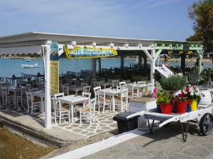 Aliki vakantie op Paros taverne