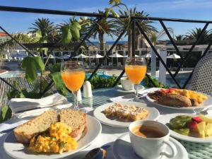 Grieks ontbijt in hotel Griekenland