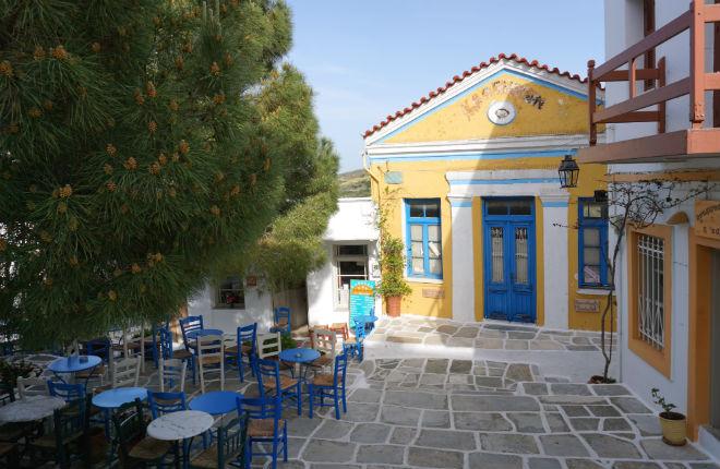 Lefkes vakantie op Paros