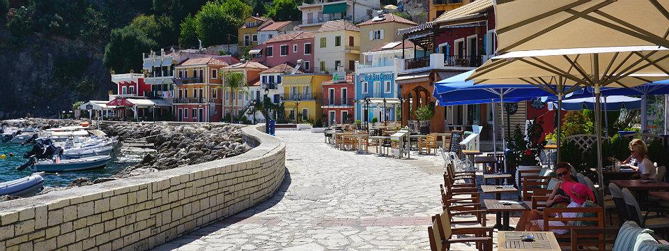 Parga vakantie in Griekenland