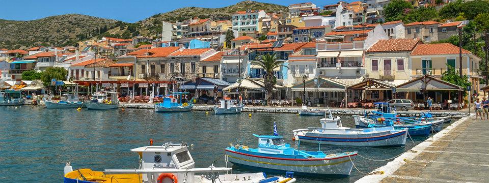 Pythagorion vakantie op Samos in Griekenland
