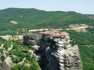 Meteora kloosters Griekenland bij Kalambaka