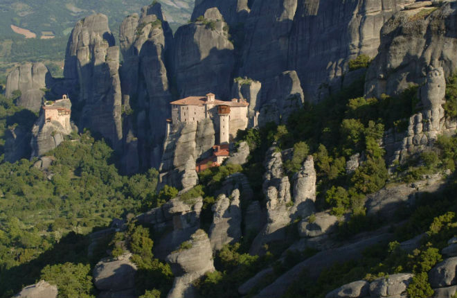 Meteora kloosters Griekenland