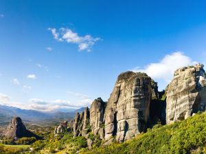 Terug naar Meteora in Griekenland