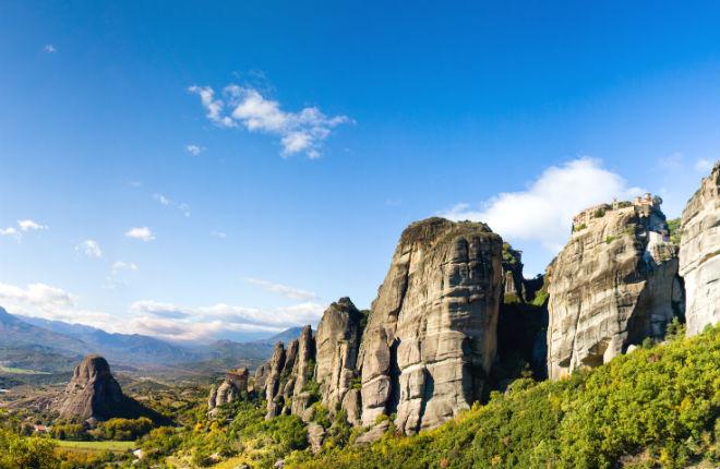 Terug naar Meteora Griekenland