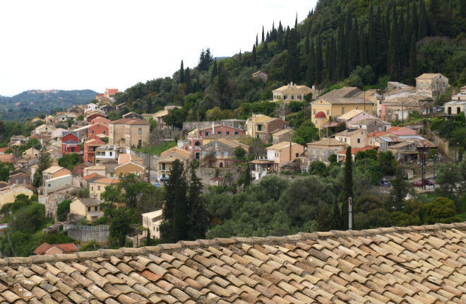 Kato Korakiana op Corfu
