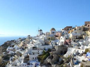 Meer dan zon, zee en strand Santorini Griekenland