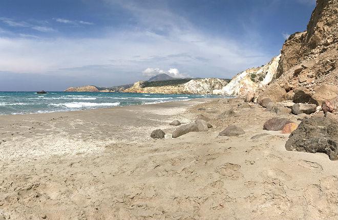 Firiplaka beach op Milos