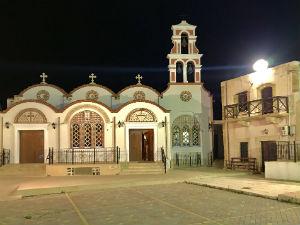 Piskopiano vakantie de kerk