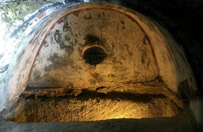 Catacomben van Milos