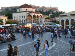 Lang weekend naar Athene Monastiraki