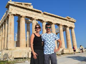 Lang weekend naar Athene