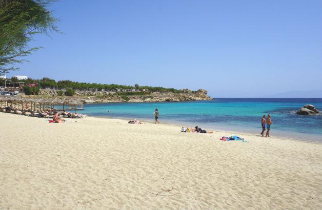 Paraga beach Mykonos vakantie