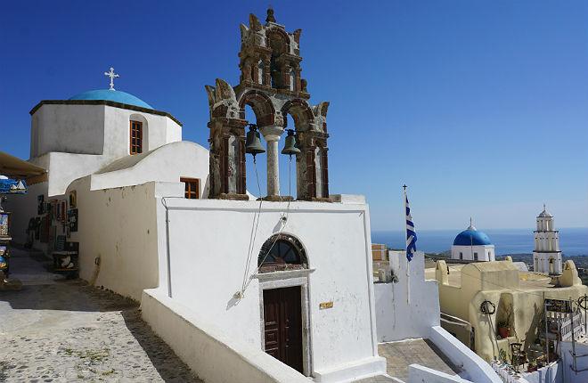 Pyrgos vakantie Santorini