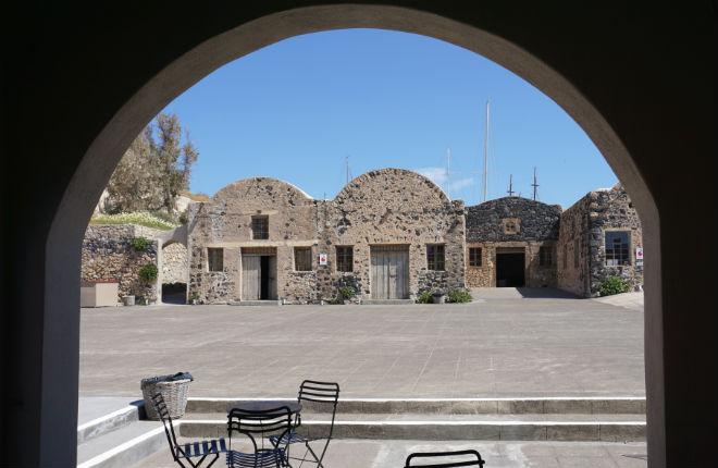 Santorini Tomato Industrial Museum