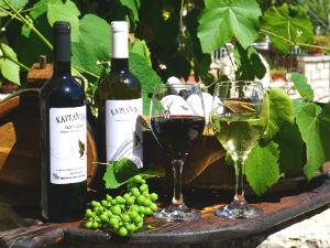 Wijn en likeur uit Lefkas het Karsanikos wijnhuis