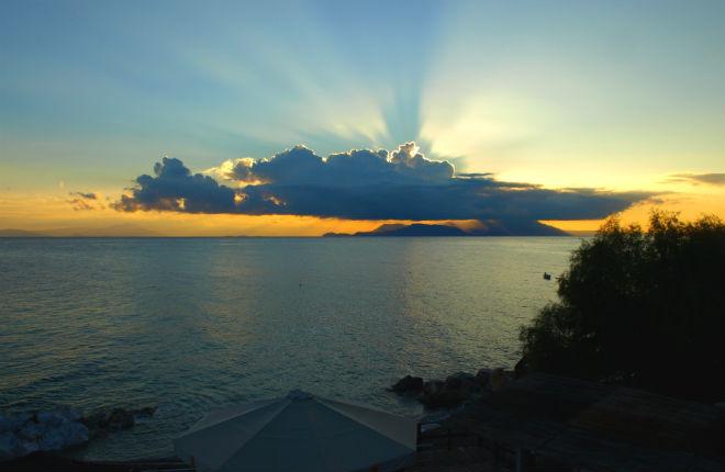 Hittegolven en warmterecords Griekenland juli
