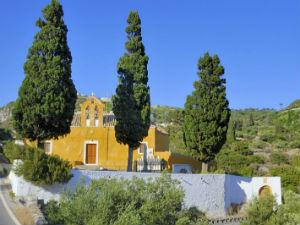 Vakantie naar Kythira kerkje
