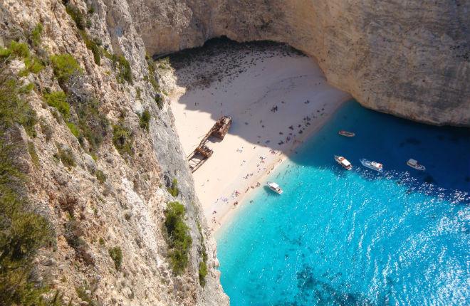 3x scheepswrak Griekenland