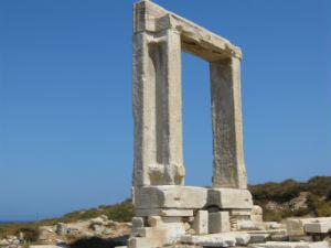 Vertrokken naar Naxos de Portara