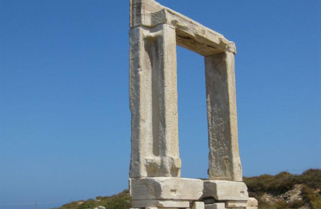 Vertrokken naar Naxos
