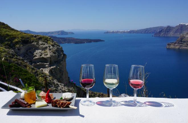 Megalochori vakantie op Santorini