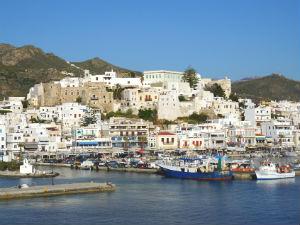 Naxos stad vakantie