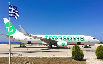 Transavia start vluchten Kreta in februari