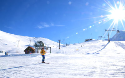 Parnassos ski center Griekenland