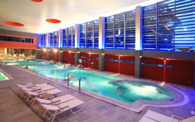 Thermische baden (spa) van Loutraki