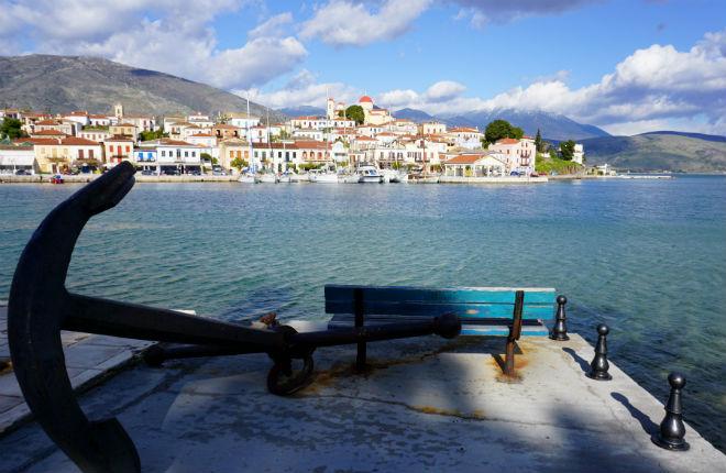 Galaxidi Centraal Griekenland