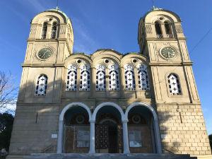 Patras kerk op de Peloponnesos