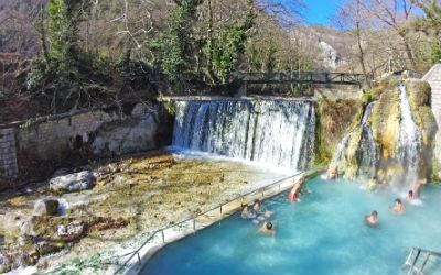 10 thermische baden in Griekenland pozar