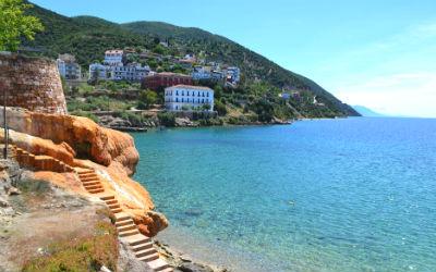 10 thermische baden in Griekenland Edipsos